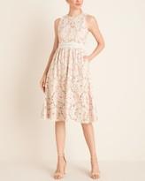 Vince Camuto Sleeveless Lace Midi Dress