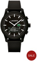 Lacoste 12.12 Contact Smart Coloured Dial Silicone Strap Smartwatch