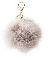 Charlotte Russe Faux Fur Ball Keychain