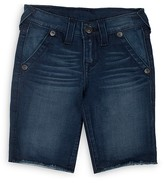True Religion Boys' Denim Shorts - Big Kid