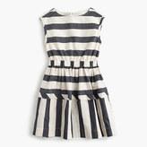 J.Crew Girls' directional stripe dress