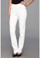 Jag Jeans Peri Pull-On Straight in White