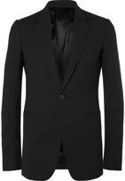 Rick Owens - Black Virgin Wool-crepe Blazer