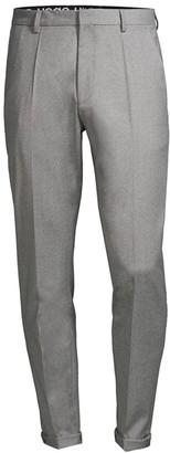 HUGO Hendris Extra Slim-Fit Stretch-Wool Pants