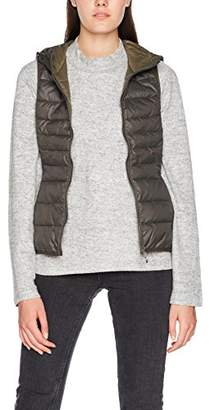 Only Women's Onltahoe Aw Quilted Waistcoat Cc OTW Outdoor Gilet,40 (Size: Large)