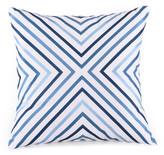 Trina Turk 20x20 Ikat Pillow - Indigo/White