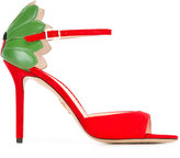 Charlotte Olympia lady bug pumps - women - Leather/Patent Leather/Suede - 37