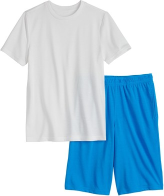 Urban Pipeline Boys 4-20 & Husky Tee & Shorts Sleep Pajama Set