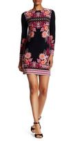 Donna Morgan Print Matte Jersey Dress