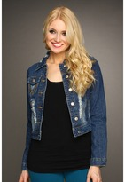 Gabriella Rocha Flynn Denim Jacket (Blue) - Apparel