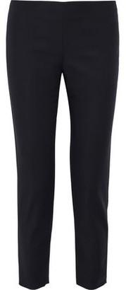 M Missoni Cropped Cotton-blend Cady Slim-leg Pants