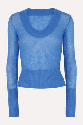 Jacquemus Dao Knitted Sweater - Blue