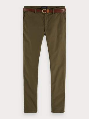 Scotch & Soda Mott - Garment Dyed Chinos Super slim fit