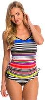 Jag Swimwear Reactive Stripe D/DD Underwire Tankini Top 8146627