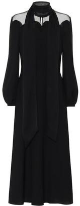 Valentino Silk-crepe gown