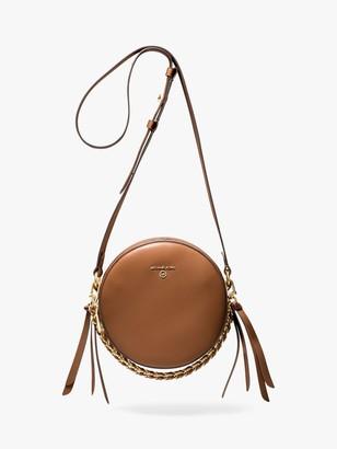 Michael Kors MICHAEL Delancey Leather Cross Body Bag