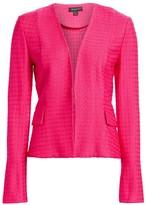 St. John Box Texture Knit Jacket