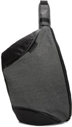 Côte and Ciel Grey and Black Oder-Spree Bag