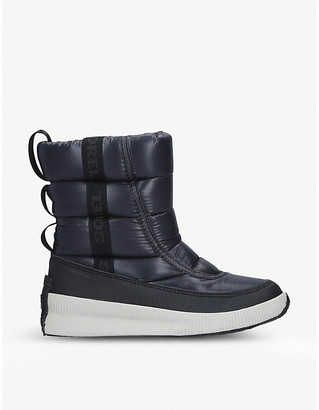 Sorel Out'N'About logo-print shell boots