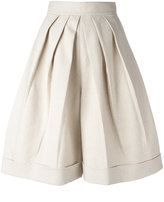 DELPOZO wide leg shorts - women - Cotton/Linen/Flax/Viscose - 36
