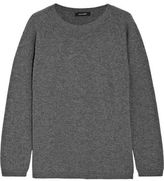 Duvetica Shell-Trimmed Cashmere Sweater