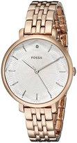Fossil Women's ES3860 Incandesa Three-Hand Stainless Steel Watch