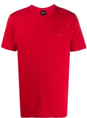 HUGO BOSS logo plaque T-shirt