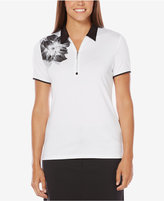 Callaway Opti-Dri Pixelated Bloom Golf Polo