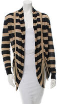Brochu Walker Striped Drawstring Cardigan