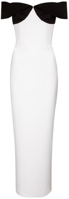Rasario Stretch-crepe gown