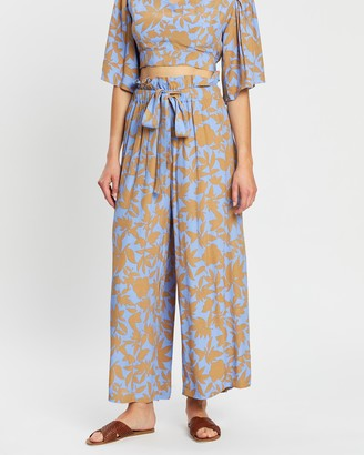 MLM Label Drama Wide Leg Pants