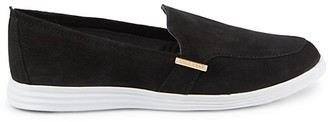 Cole Haan Ella Velvet Slip-On Sneakers