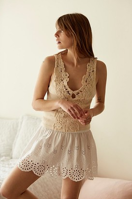 Intimately Elena Eyelet Shorts