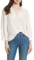 The Great Women's The Long Sleeve Story Silk Top