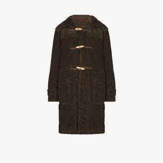 Denimist Corduroy Hooded Duffle Coat