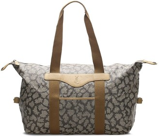 Yves Saint Laurent Pre-Owned Abstract Pattern Tote Bag