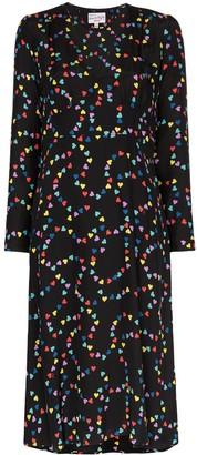 HVN Hoover rainbow heart dress