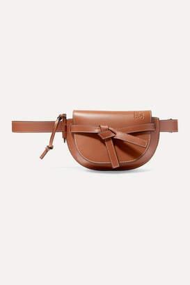 Loewe Gate Mini Leather Belt Bag - Tan