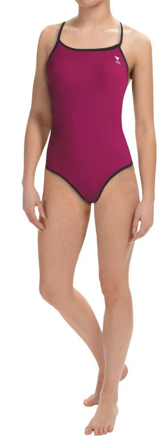 TYR Diamondfit Swimsuit - Reversible (For Women)