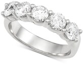 Thumbnail for your product : Grown With Love Lab Grown Diamond Anniversary Band (2 ct. t.w.) in 14k White Gold