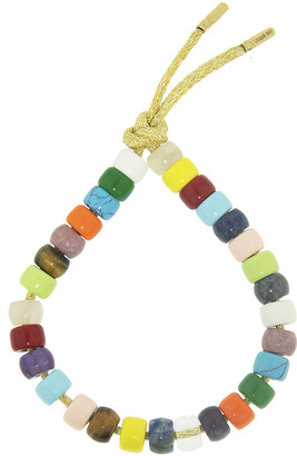 Carolina Bucci FORTE Beads Rainbow Sun Bracelet Kit - Yellow Gold
