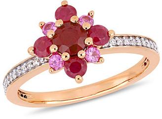 Rina Limor Fine Jewelry 14K Rose Gold 1.31 Ct. Tw. Diamond & Gemstone Ring