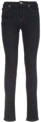 Love Moschino Skinny Jeans W/logo On Pocket