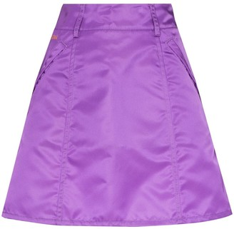 Self Cinema A-line mini skirt