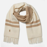 Polo Ralph Lauren Women's Wool Blanket Scarf - Cream
