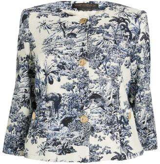 Marina Rinaldi Cotton-Blend Jacket