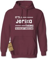 Expression Tees Hoodie It's A Jerika Thing Adult