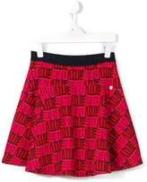 Kenzo Love print skirt