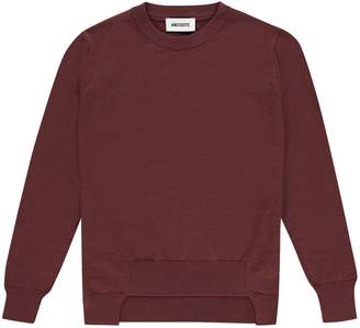 Anecdote - Lauren Fine Knitted Sweater Long Sleeve Current - S - M- L- XL | wool | brick red - Brick red