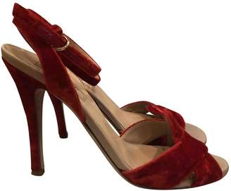 Valentino \N Red Velvet Heels